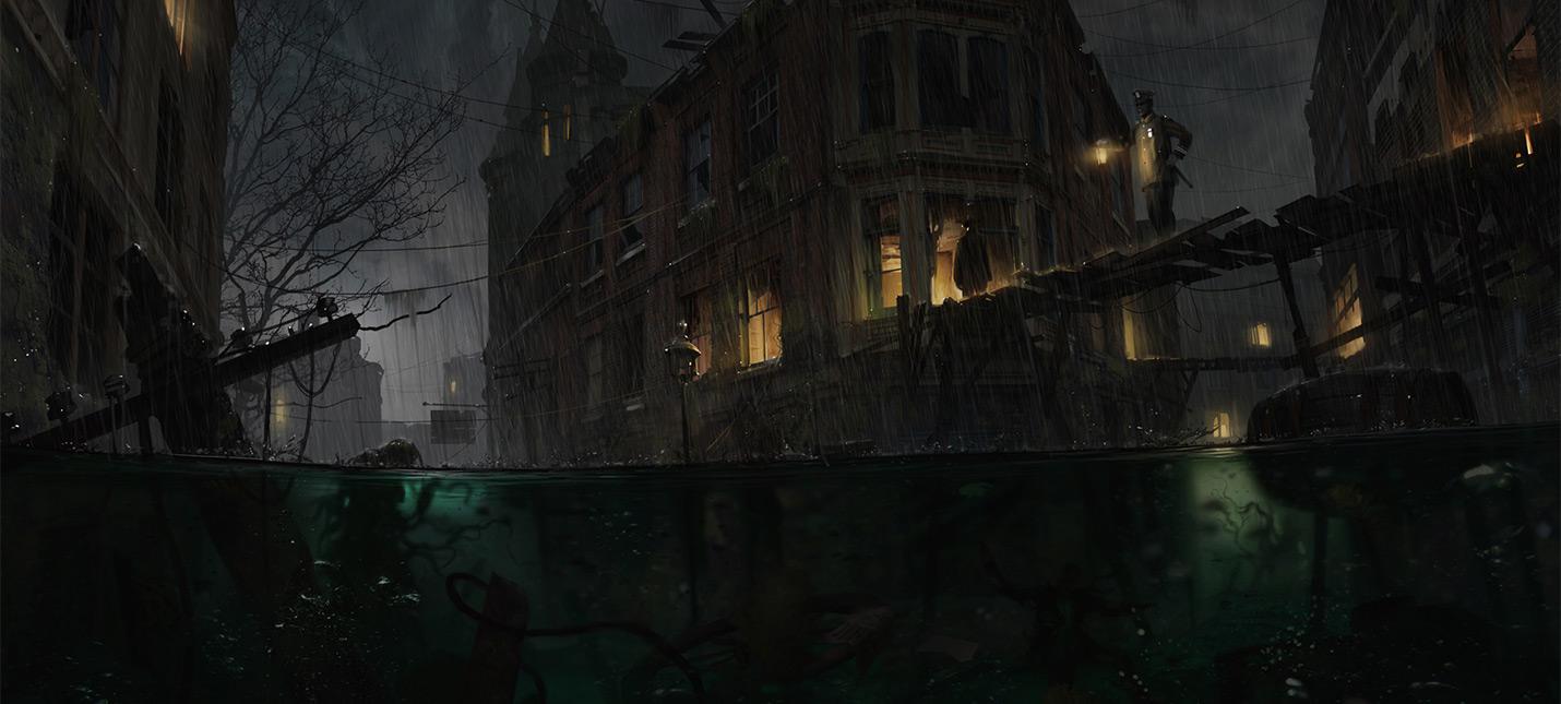 Новый видеодневник хоррора The Sinking City показывает освещение и погодные условия