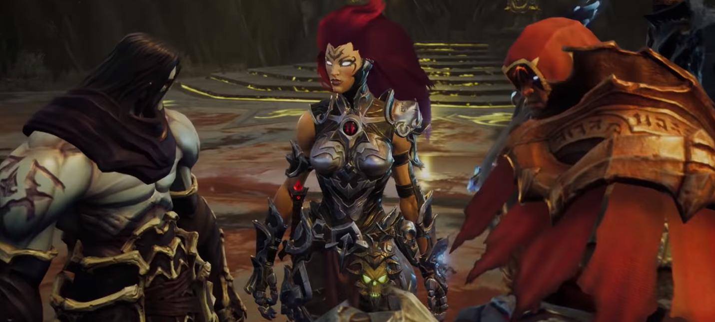 Gamescom 2018: Война и Смерть в новом трейлере Darksiders 3