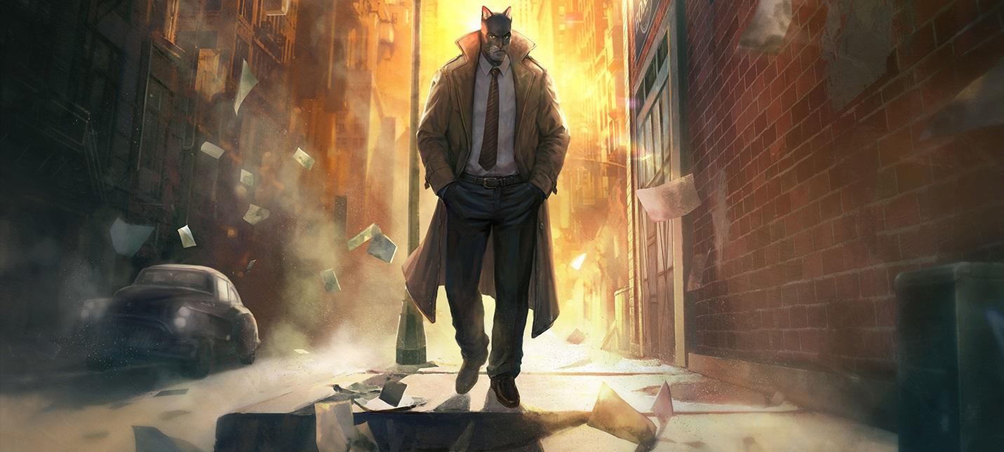 Gamescom 2018: Тизер Blacksad: Under the Skin — игры по нуарным комиксам про кота-детектива