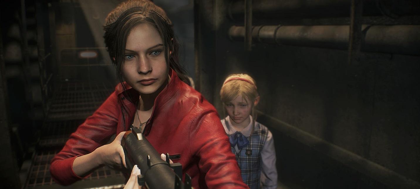 Gamescom 2018: Клэр Рэдфилд сражается с Уильямом Биркином в новом геймплее ремейка Resident Evil 2