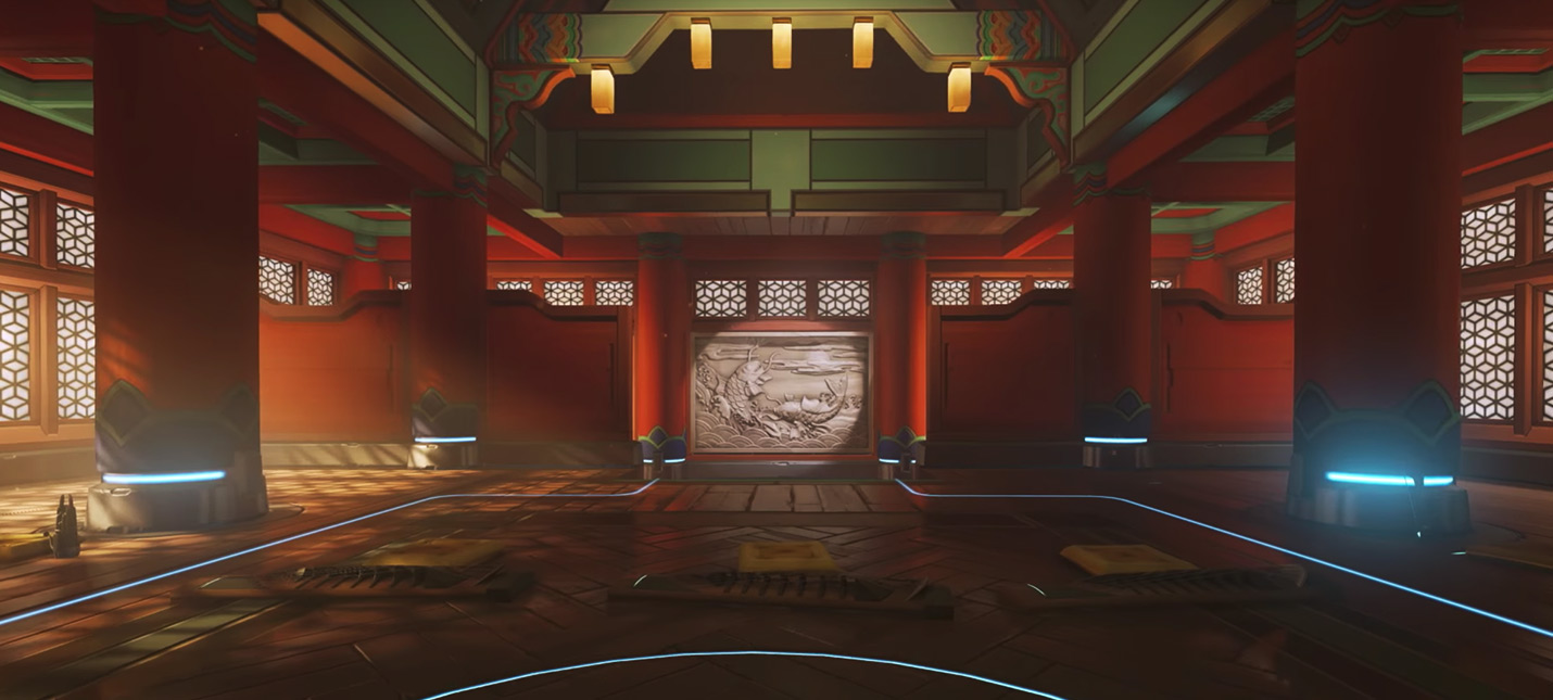 Новая карта Overwatch — Пусан