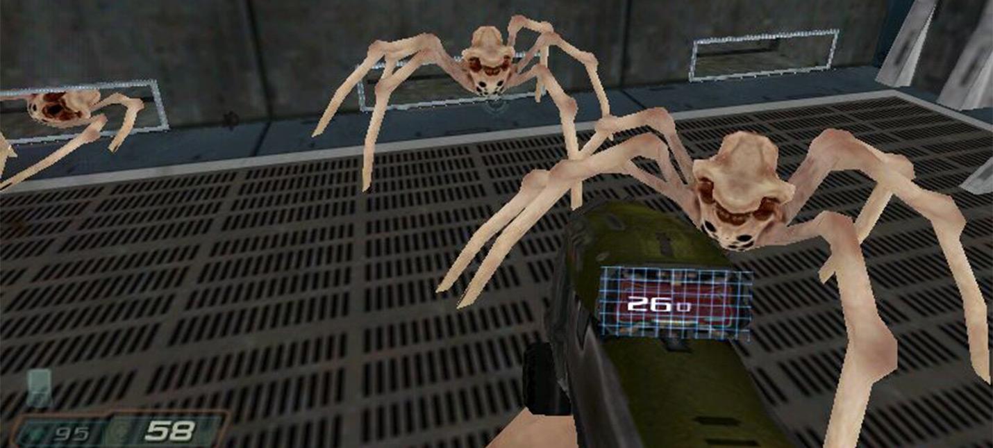 Как выглядит Doom 3 на Windows 98 с графической картой на 12 Мб