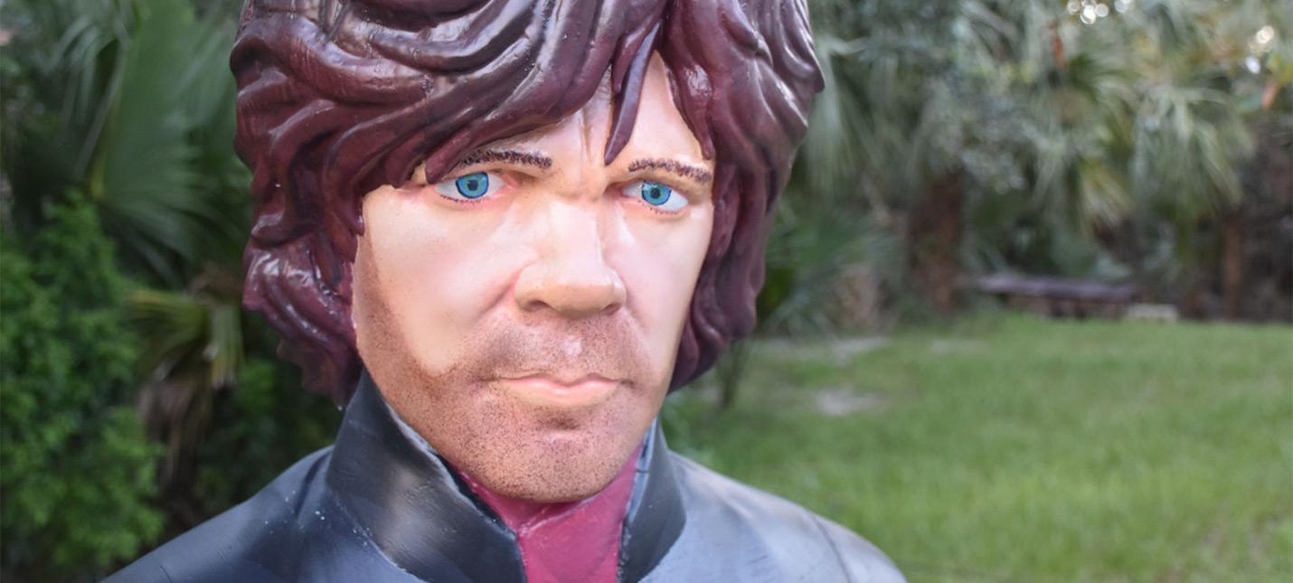 """Фанат """"Игры престолов"""" напечатал на 3D-принтере полноразмерного Тириона Ланнистера"""