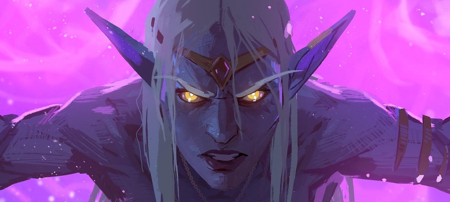 """Последний ролик Blizzard из серии """"Лики войны"""" показывает падение Азшары"""