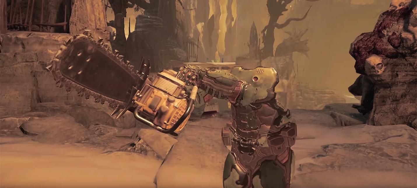 Как выглядит Doom 2016 года с видом от третьего лица
