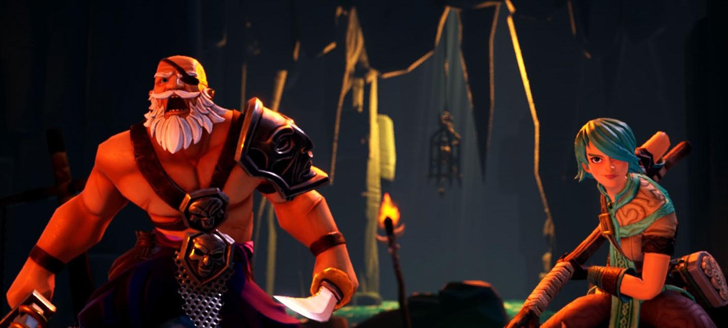 12 минут геймплея Torchlight Frontiers