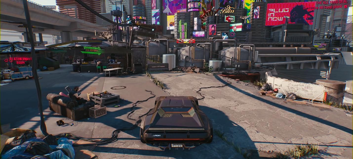 Непопулярное мнение: Cyberpunk 2077 выглядит хорошо, но не более