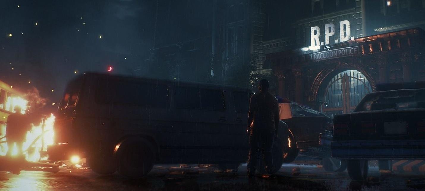 50 минут геймплея ремейка Resident Evil 2