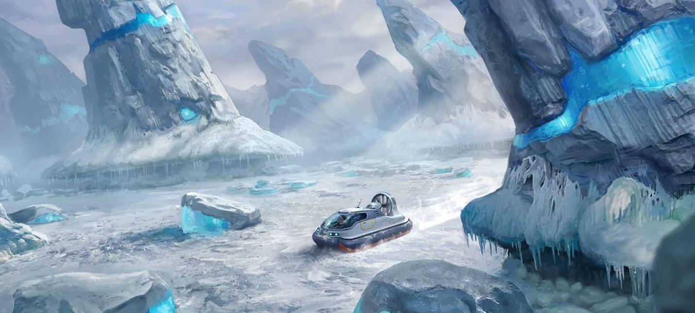 Subnautica получит арктическое дополнение Below Zero