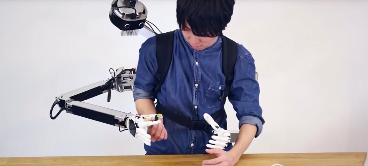 Этот японский робот предоставит вам вторую пару рук