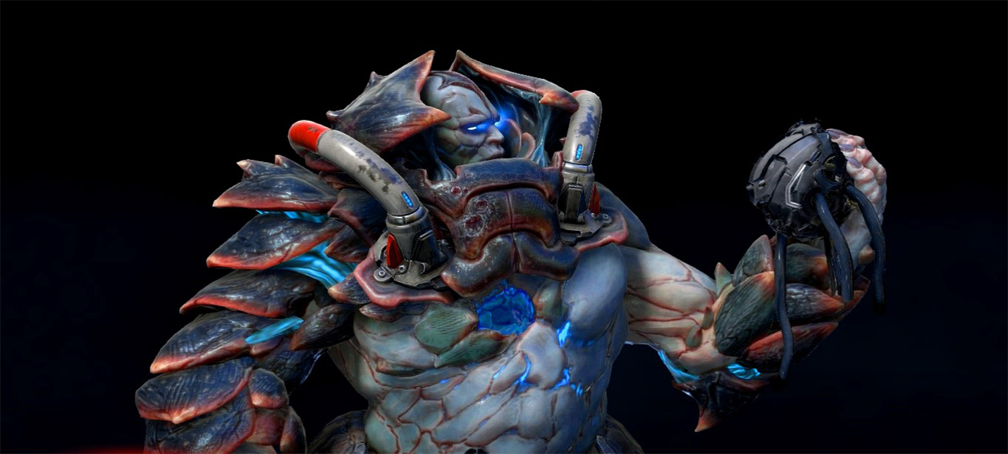 Как выглядит Quake Champions на ультра-низких настройках