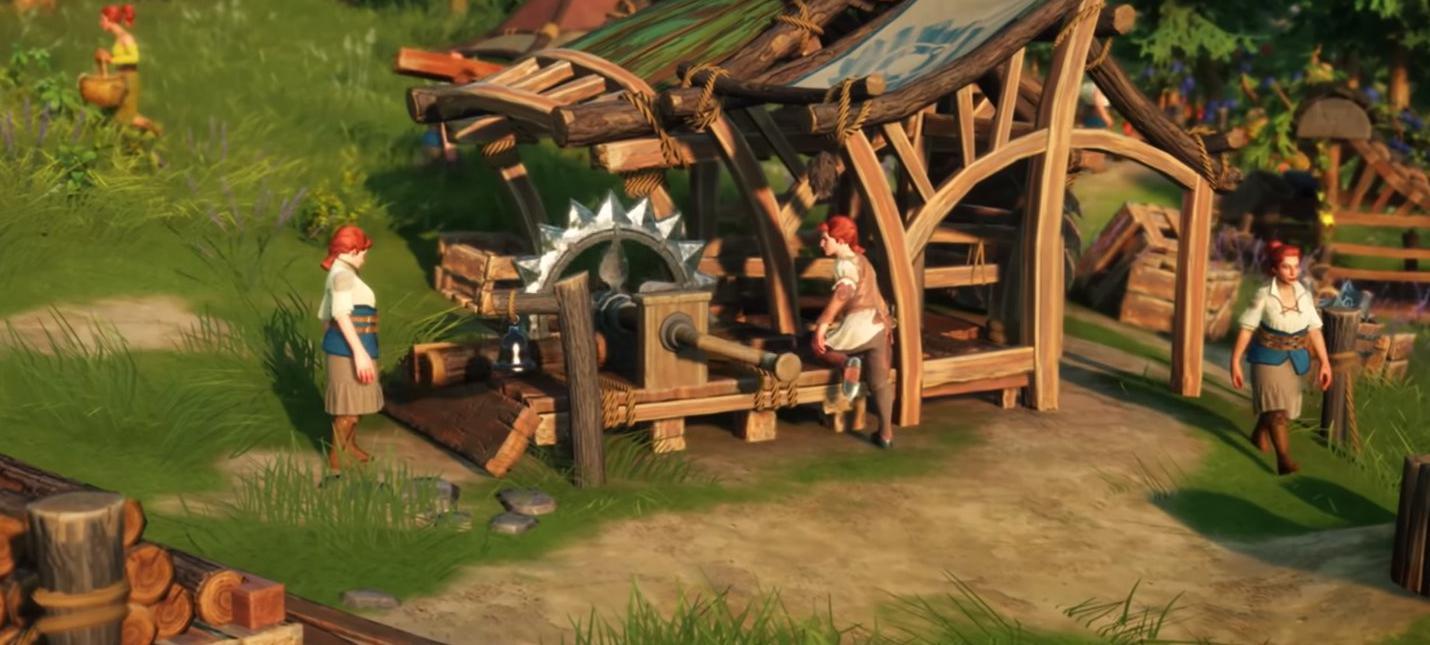 Сражения и осады в новом геймплее The Settlers