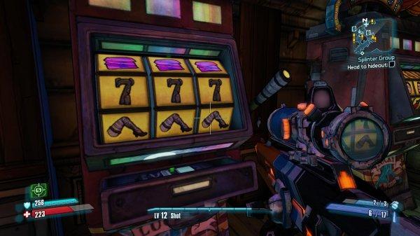 Borderlands 2 игровые автоматы колокольчики играть автоматы скалолаз