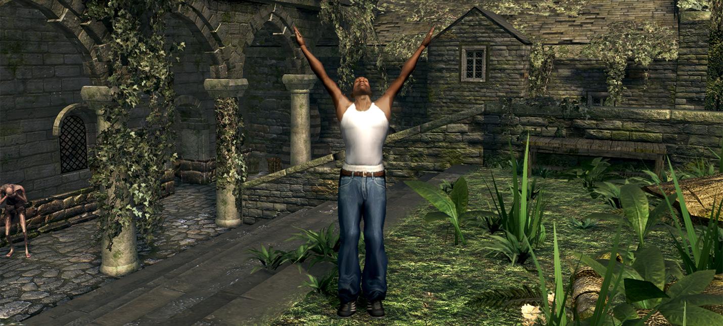 СиДжей восславляет солнце благодаря моду для Dark Souls