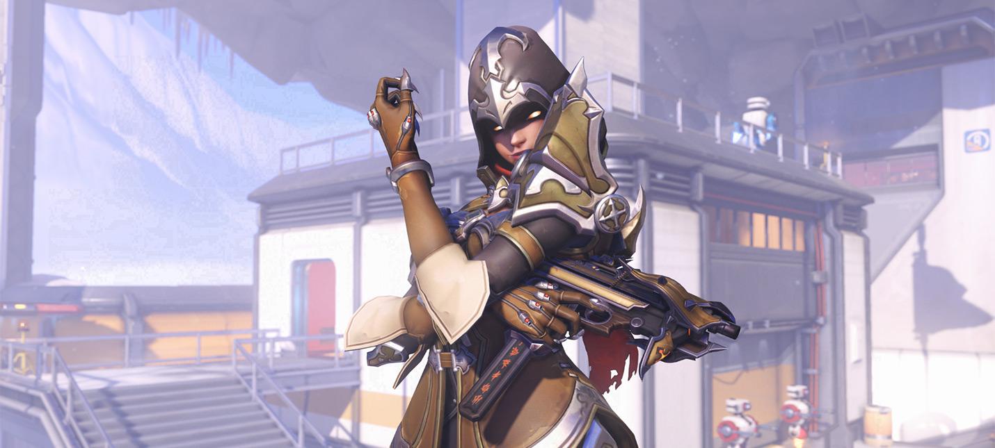 Игроки Overwatch получат эксклюзивный скин Сомбры за билет BlizzCon 2018