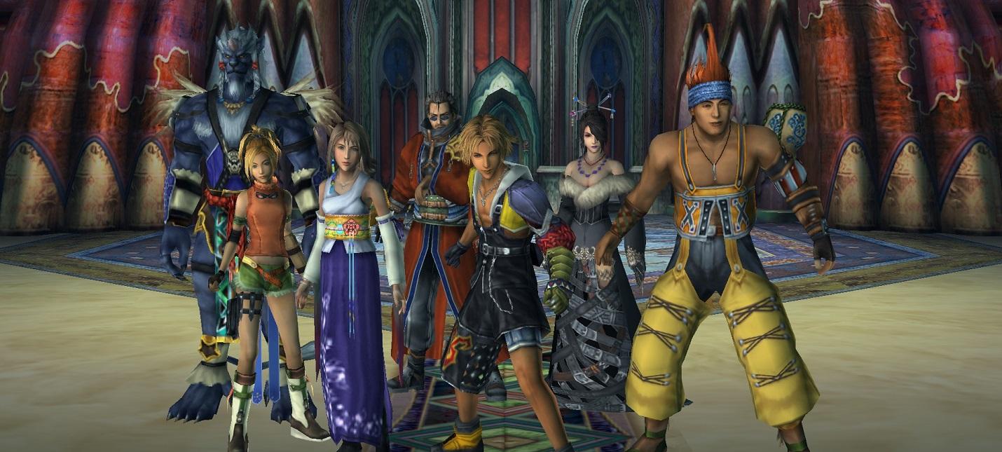 Final Fantasy 7, 9, 10 и 12 выйдут на Xbox One и Switch