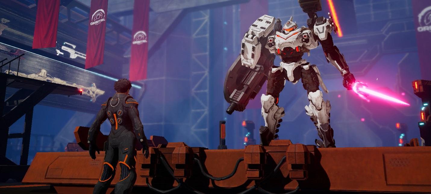 Новый геймплей и скриншоты меха-боевика Daemon X Machina