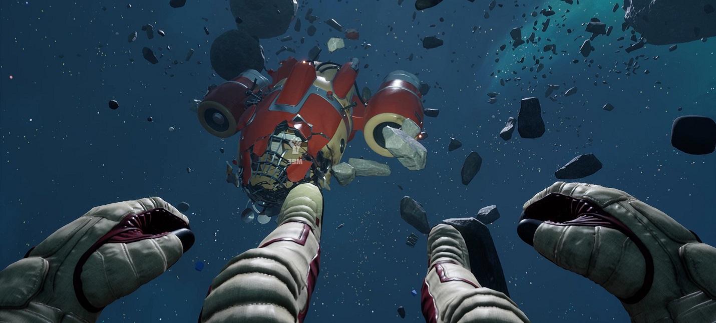 В Steam вышло юмористическое приключение в космосе Breathedge