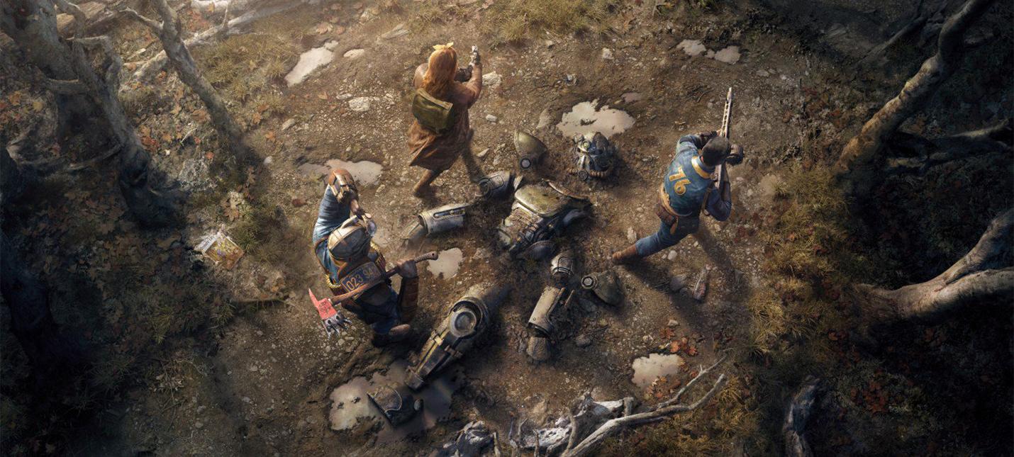 Детали Fallout 76: лутинг в оффлайне и торговля