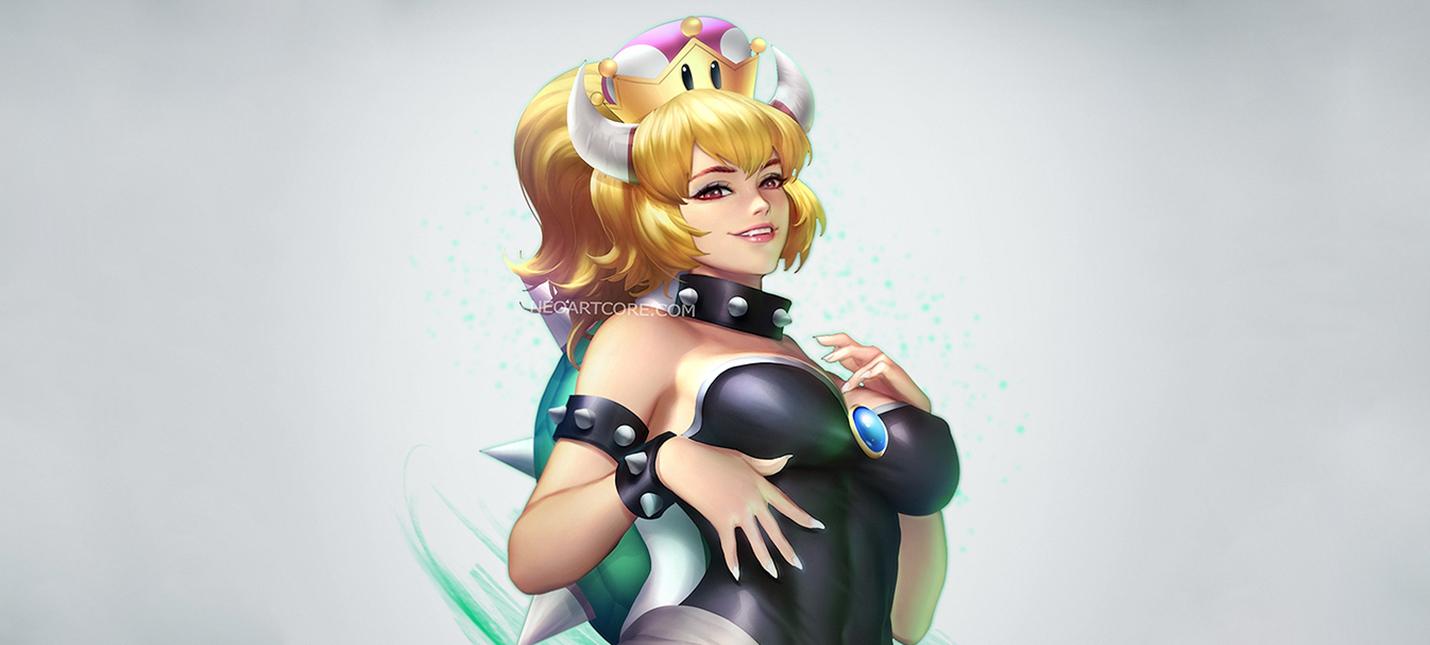 Женская версия Боузера — новый фетиш у фанатов Super Mario