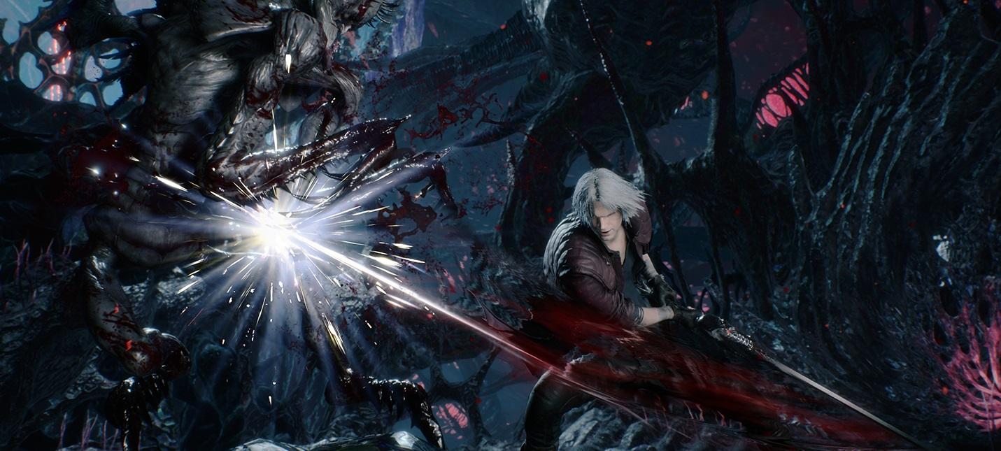 Devil May Cry 5 получит 4К-разрешение и 60 fps на PS4 Pro