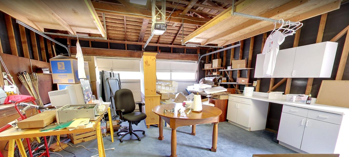 Google организовала виртуальный тур по своему первому офису