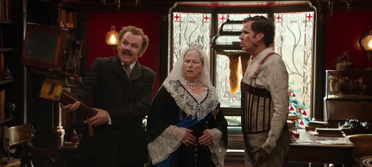 """Эксцентричный дуэт в трейлере фильма """"Холмс и Ватсон"""""""