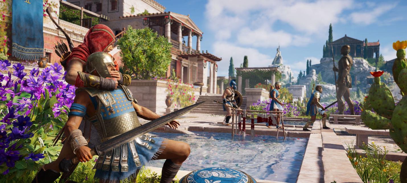 Сравнение локаций Assassin's Creed Odyssey с реальной Грецией