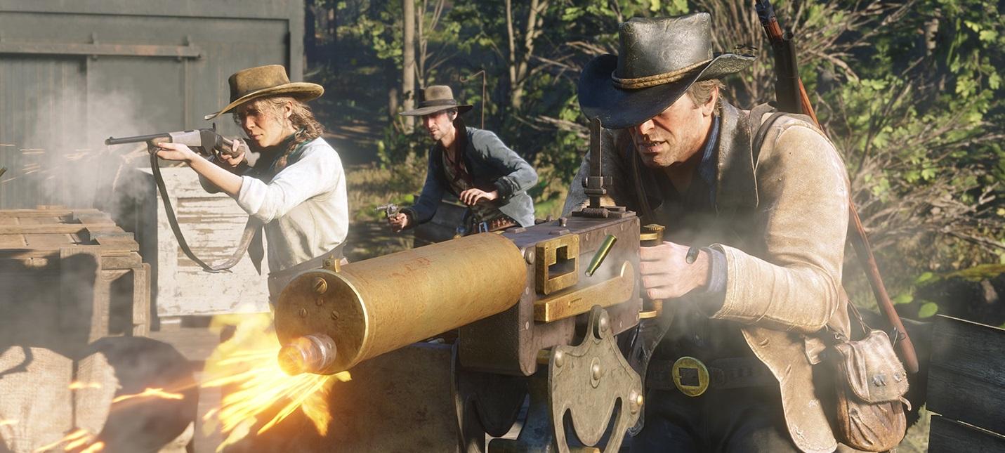 Подпольная торговля, завязка сюжета и другие подробности Red Dead Redemption 2