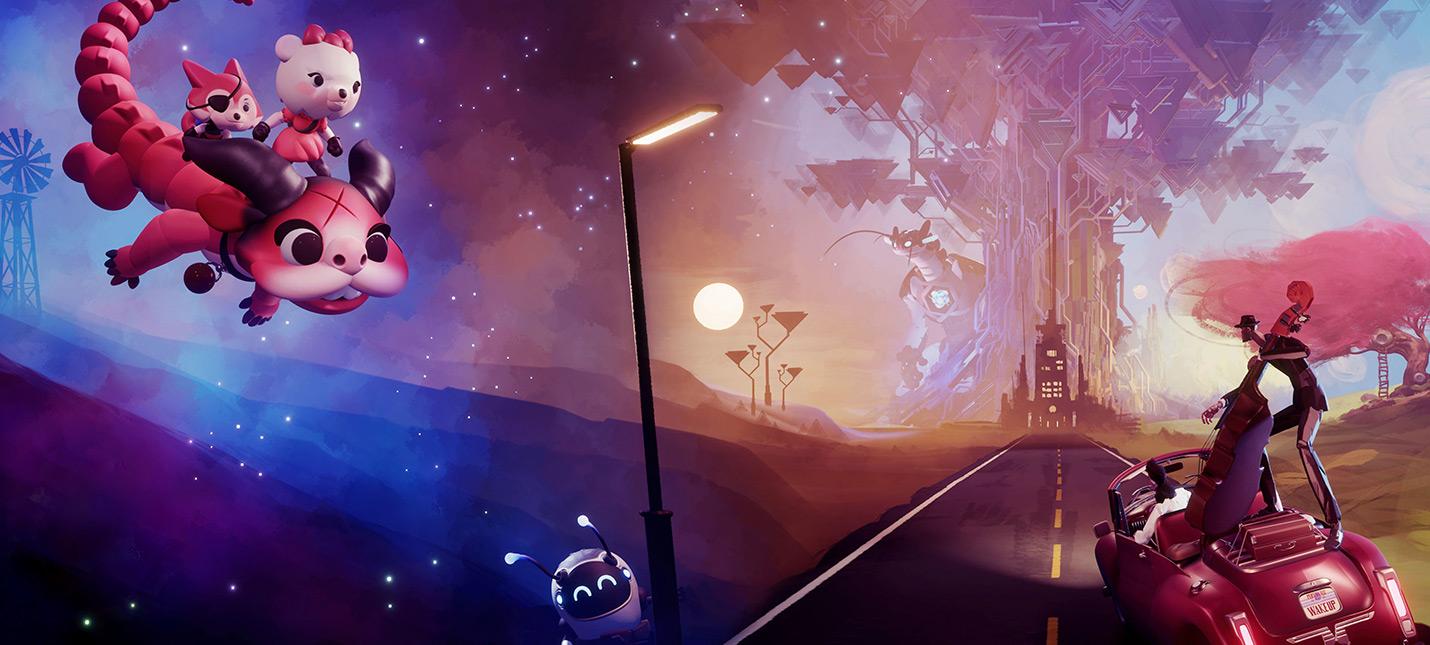 Долгострой Dreams на обложке GameInformer