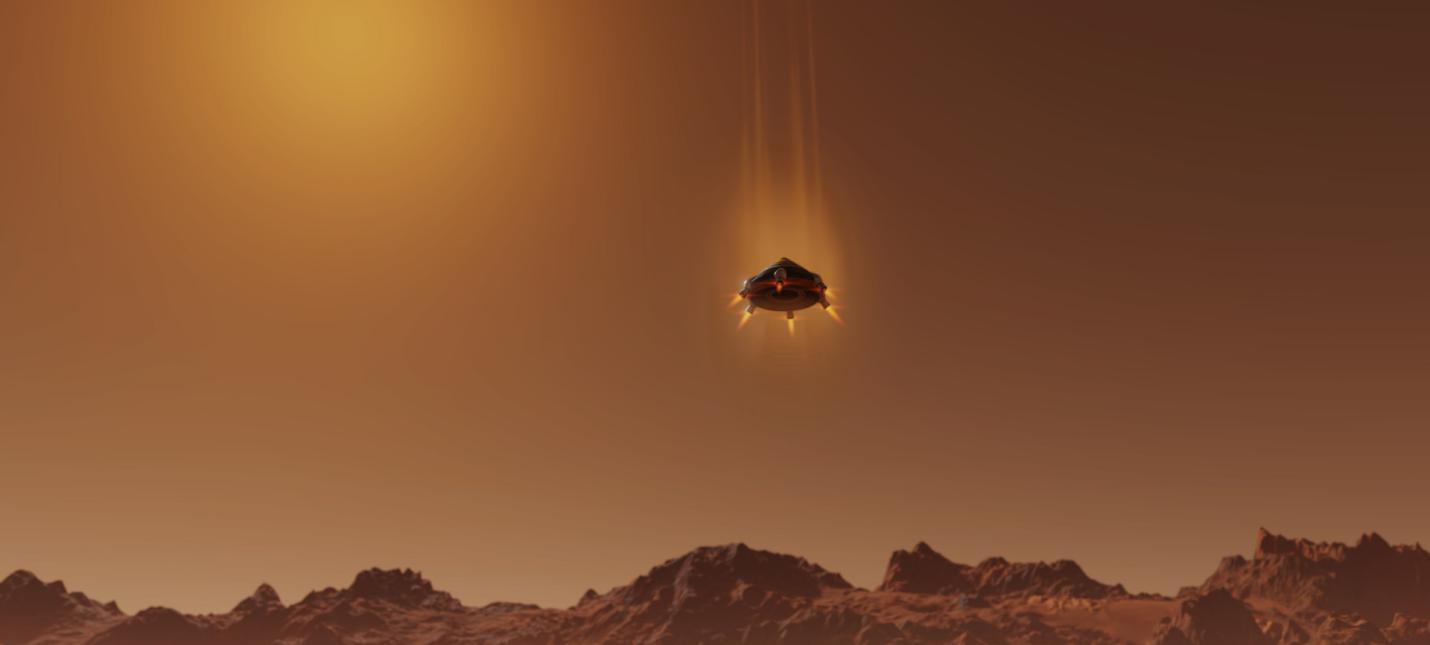 В новом DLC для Surviving Mars нужно конкурировать с другими колониями