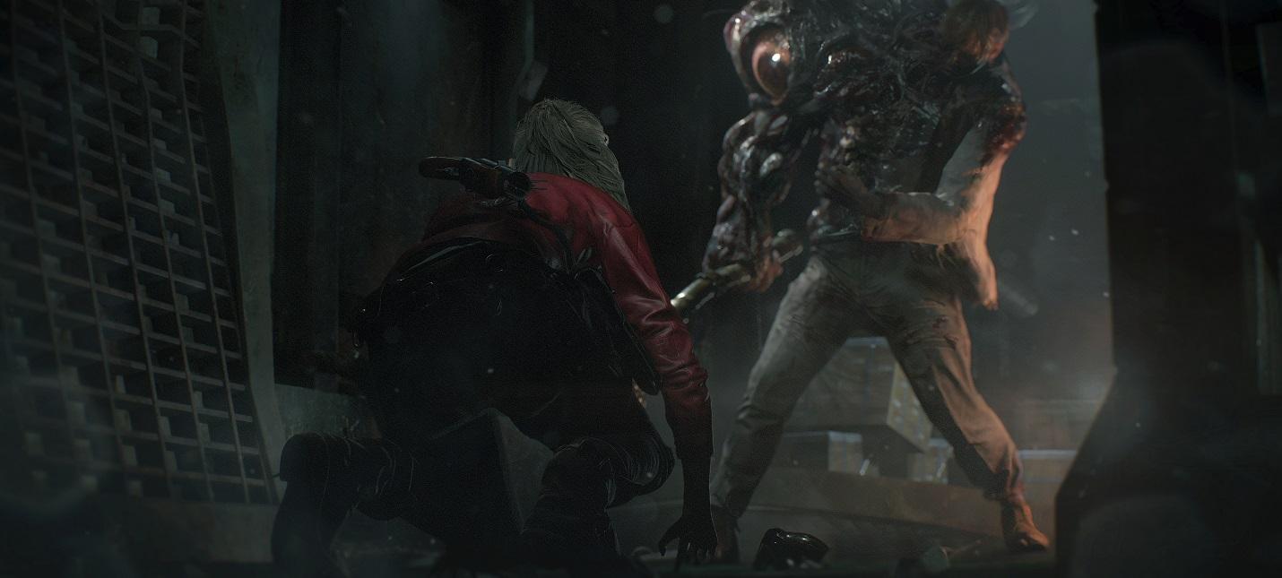 Полчаса геймплея Resident Evil 2 за Клэр Редфилд