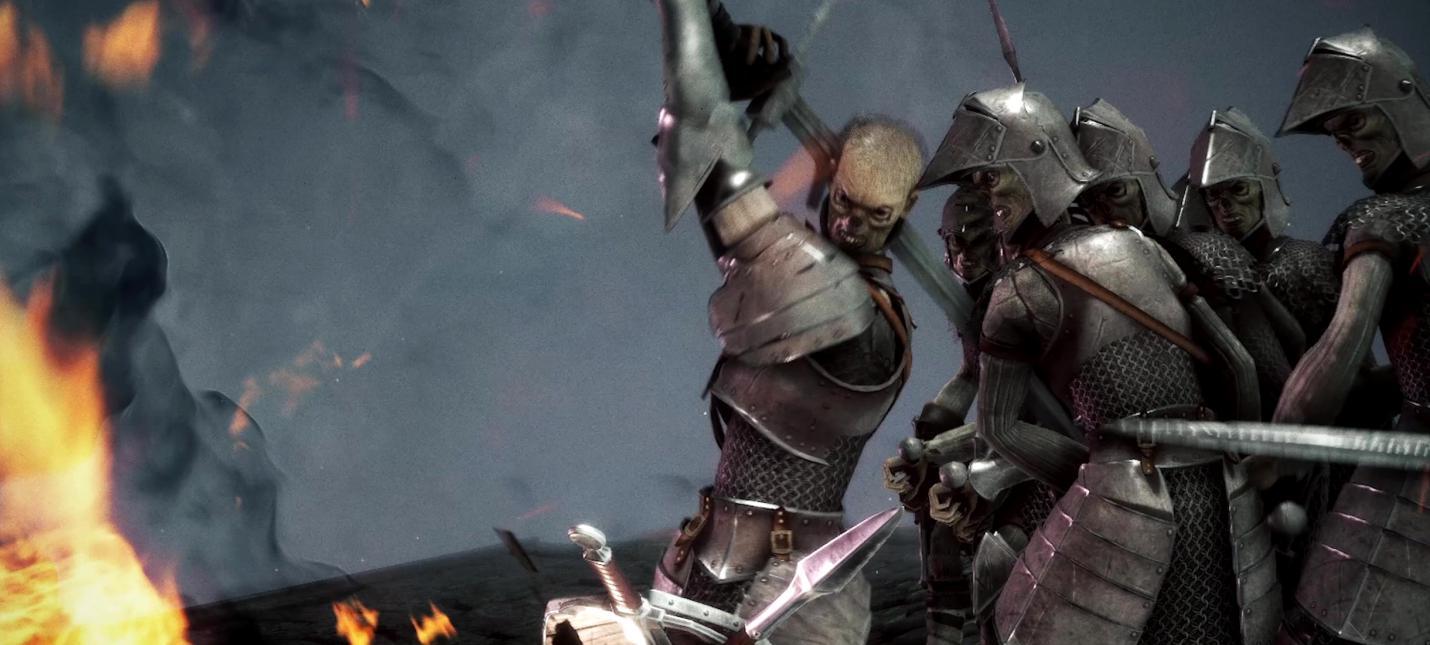 Бой с первым боссом в Sinner: Sacrifice for Redemption