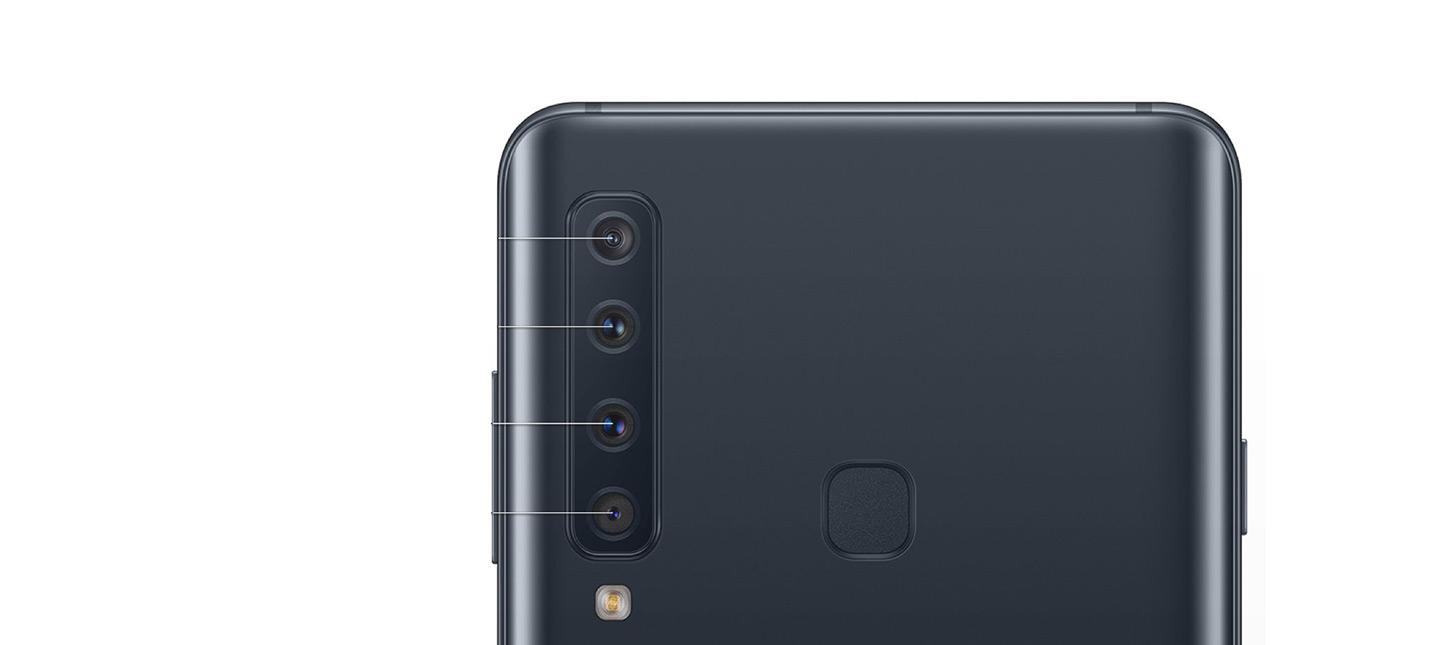 Утечка изображений Galaxy A9 подтверждает четыре камеры на задней панели