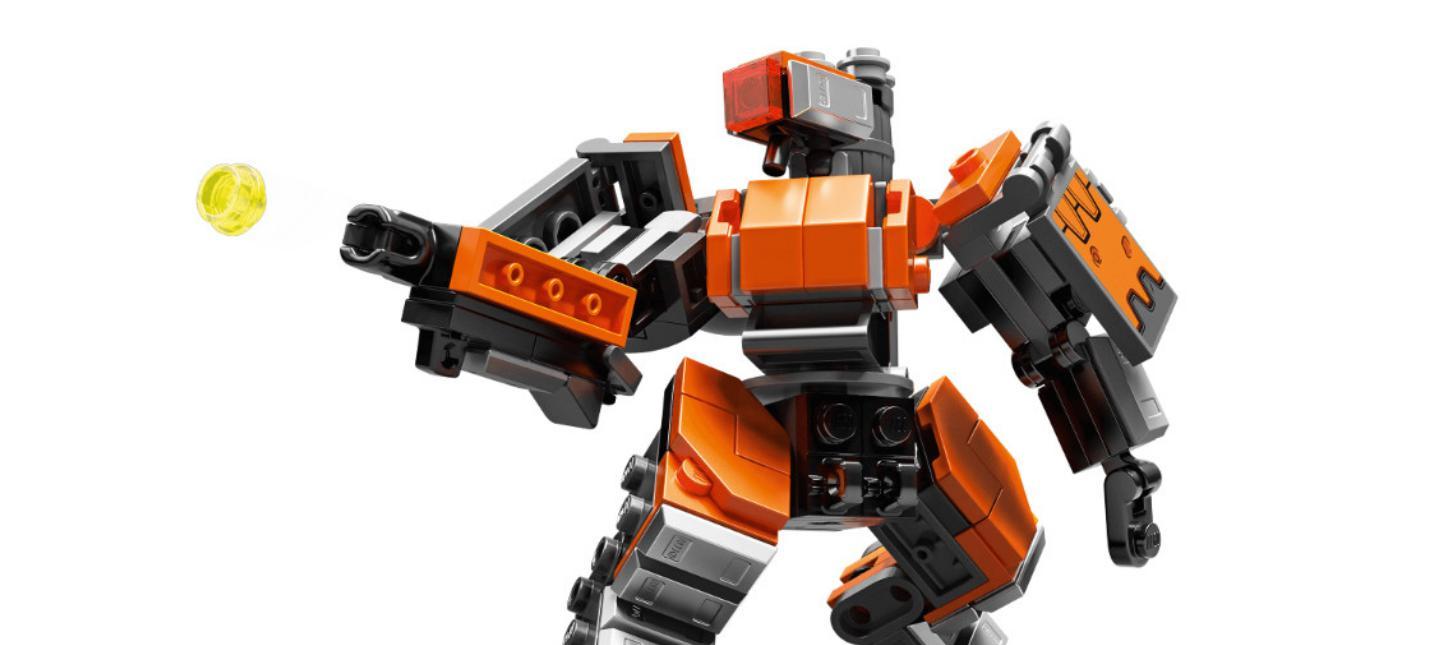 Первый набор LEGO Overwatch посвящен Бастиону