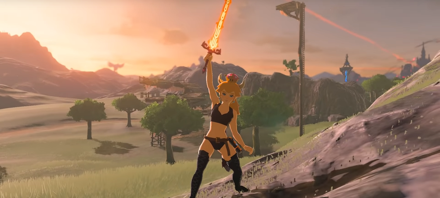 Боузетта стала главной героиней The Legend of Zelda: Breath of the Wild