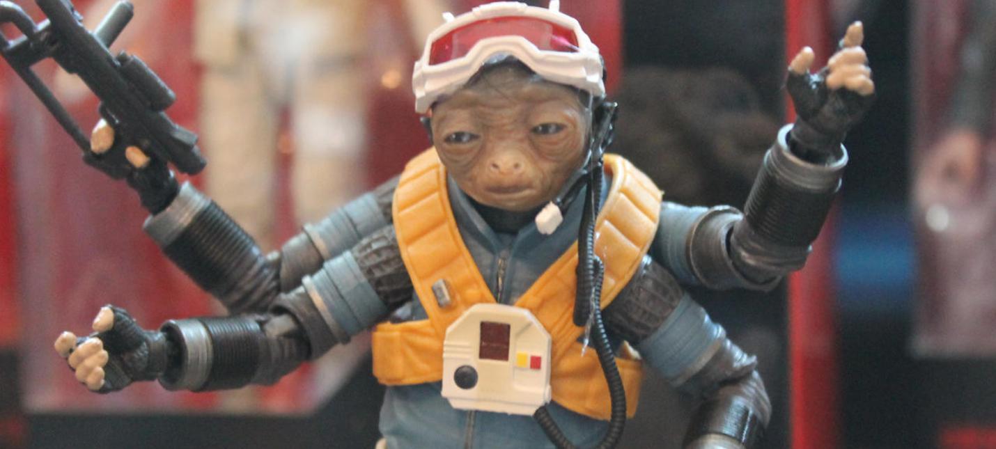 """Hasbro показала новые фигурки по """"Звездным Войнам"""""""