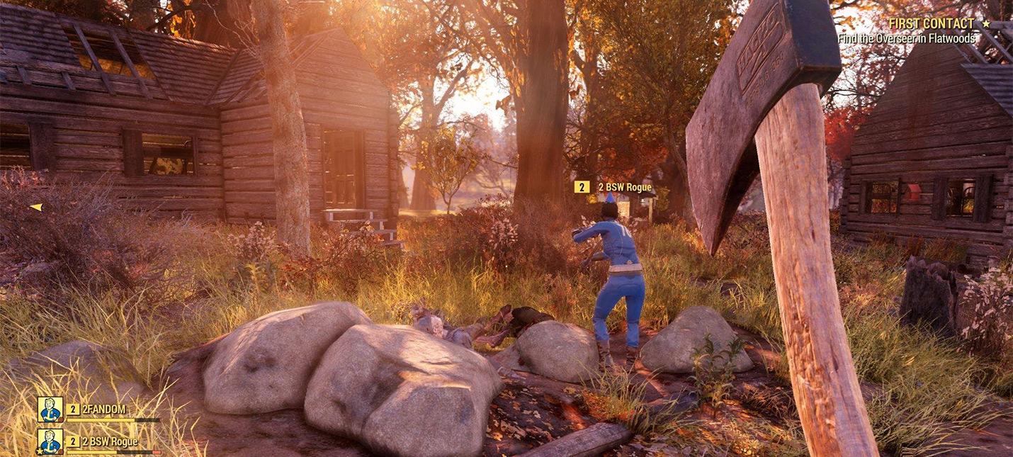 Стресс-тест Fallout 76 может пройти на PC и PS4