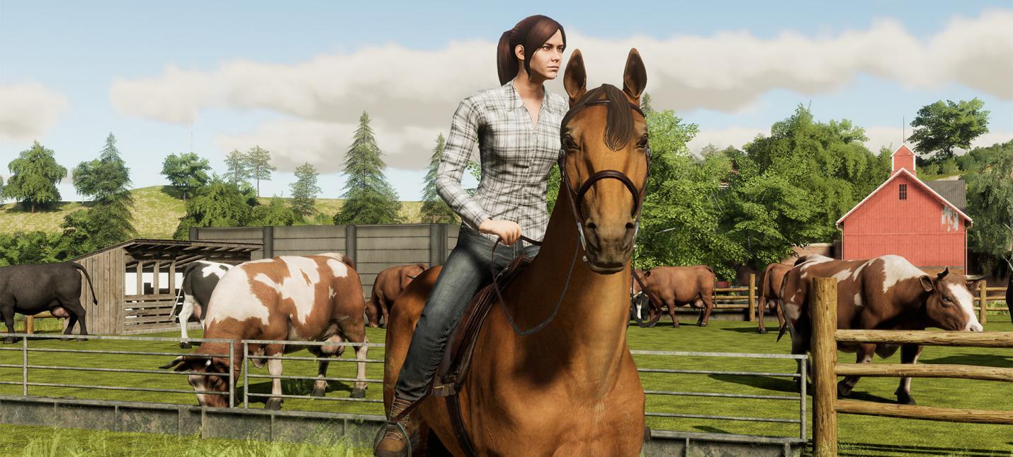Новый трейлер Farming Simulator 19 посвящен животноводству