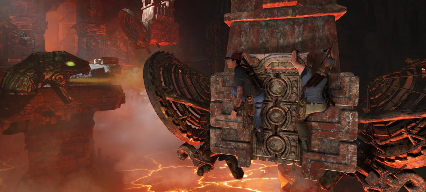 Видеодневник разработки Shadow of the Tomb Raider о первом DLC