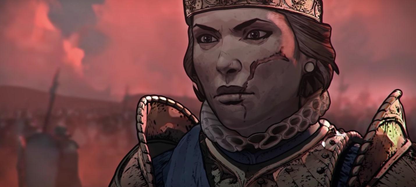 Релизный трейлер Thronebreaker: The Witcher Tales