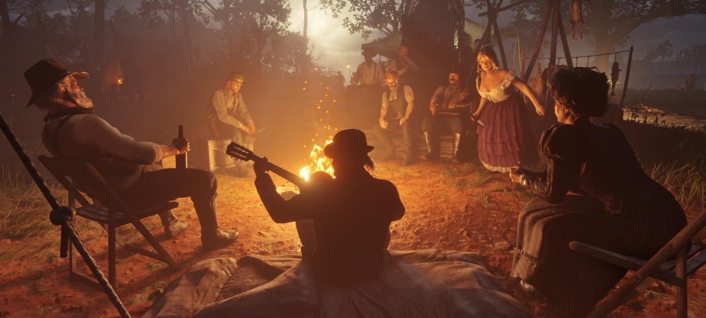 Rockstar прокачала технологию Euphoria в Red Dead Redemption 2