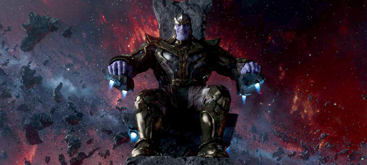 """Взгляд на грим оригинального Таноса из оригинальных """"Мстителей"""""""