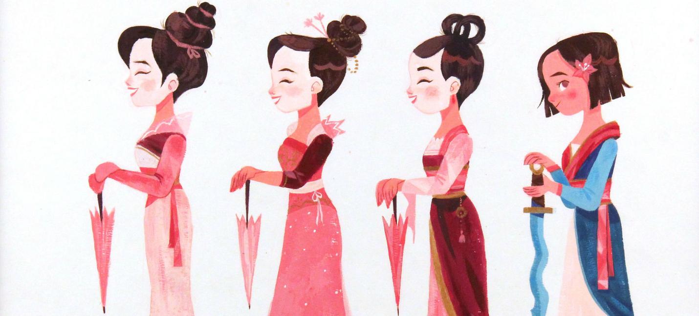"""Драконы и древний Китай на выставке картин в честь 20-тилетия """"Мулан"""""""