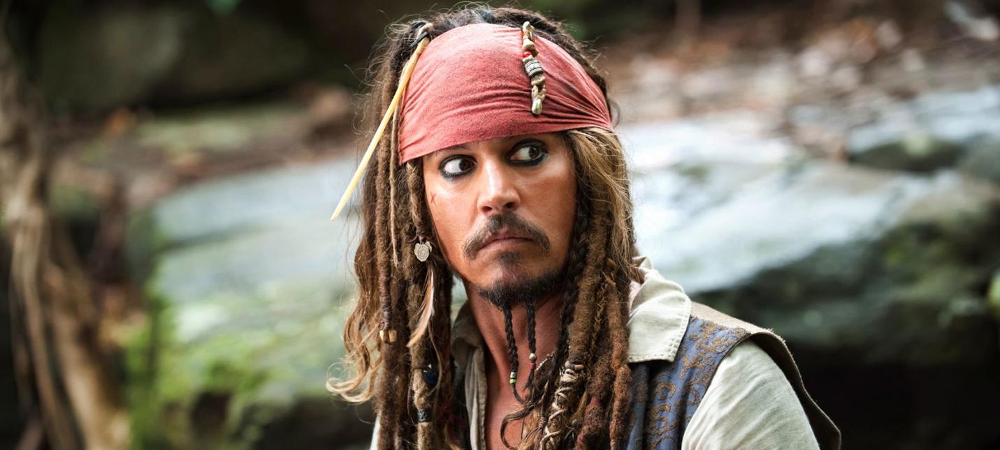 """СМИ: Джонни Депп больше не будет играть капитана Джека Воробья в """"Пиратах Карибского моря"""""""