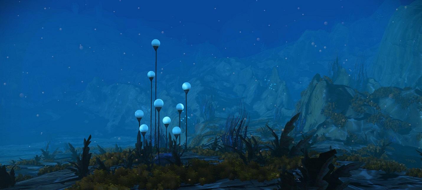 Подводный мир в трейлере обновления The Abyss для No Man's Sky