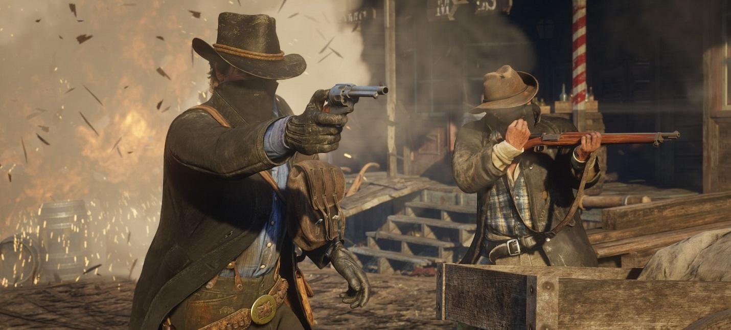 В Red Dead Redemption 2 обнаружили место, где сгорают лошади