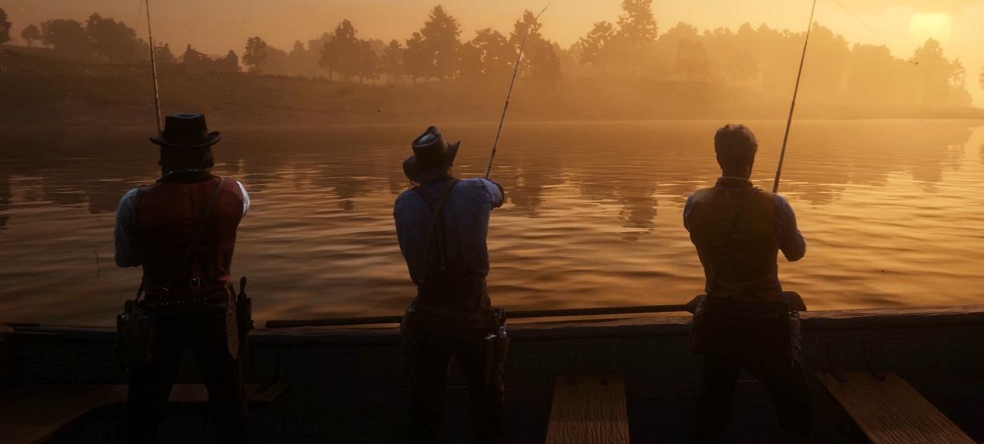 Как рыбачить и где искать легендарных рыб в Red Dead Redemption 2