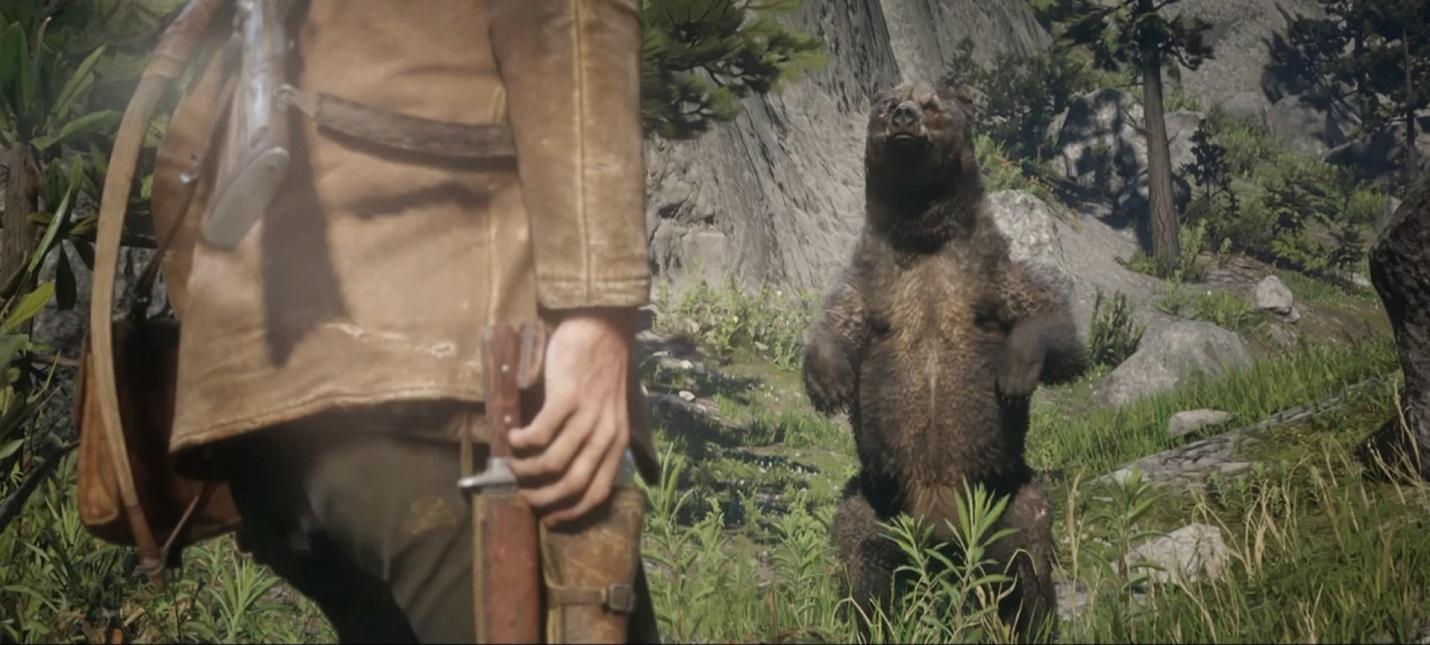 Что делать со шкурой легендарного медведя в Red Dead Redemption 2