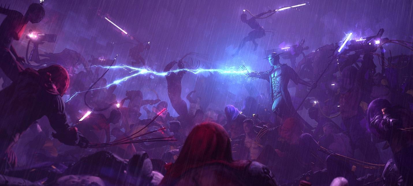 Новый трейлер Re-Legion — киберпанк-RTS о создании культа